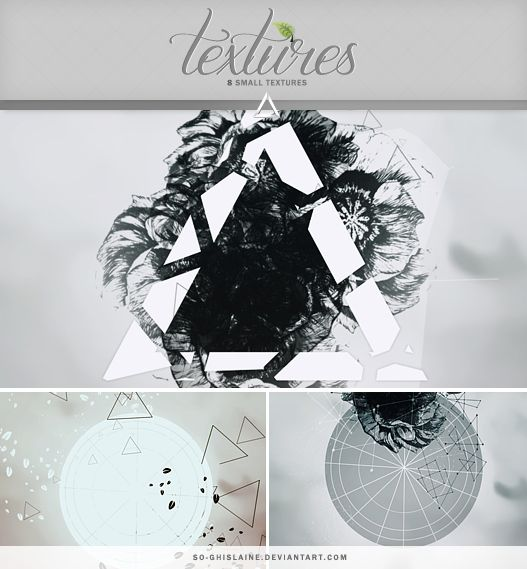 Textures - Triangles by So-ghislaine