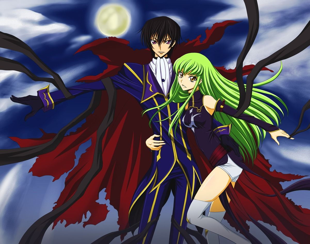 Code Geass Code geass, Anime head, Anime