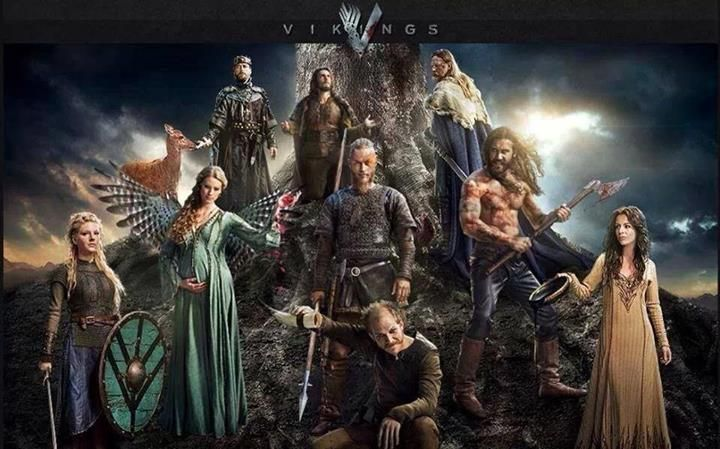 Vikings!! Obsessed with this show. Can't wait for this new season. This show has strong characters!!