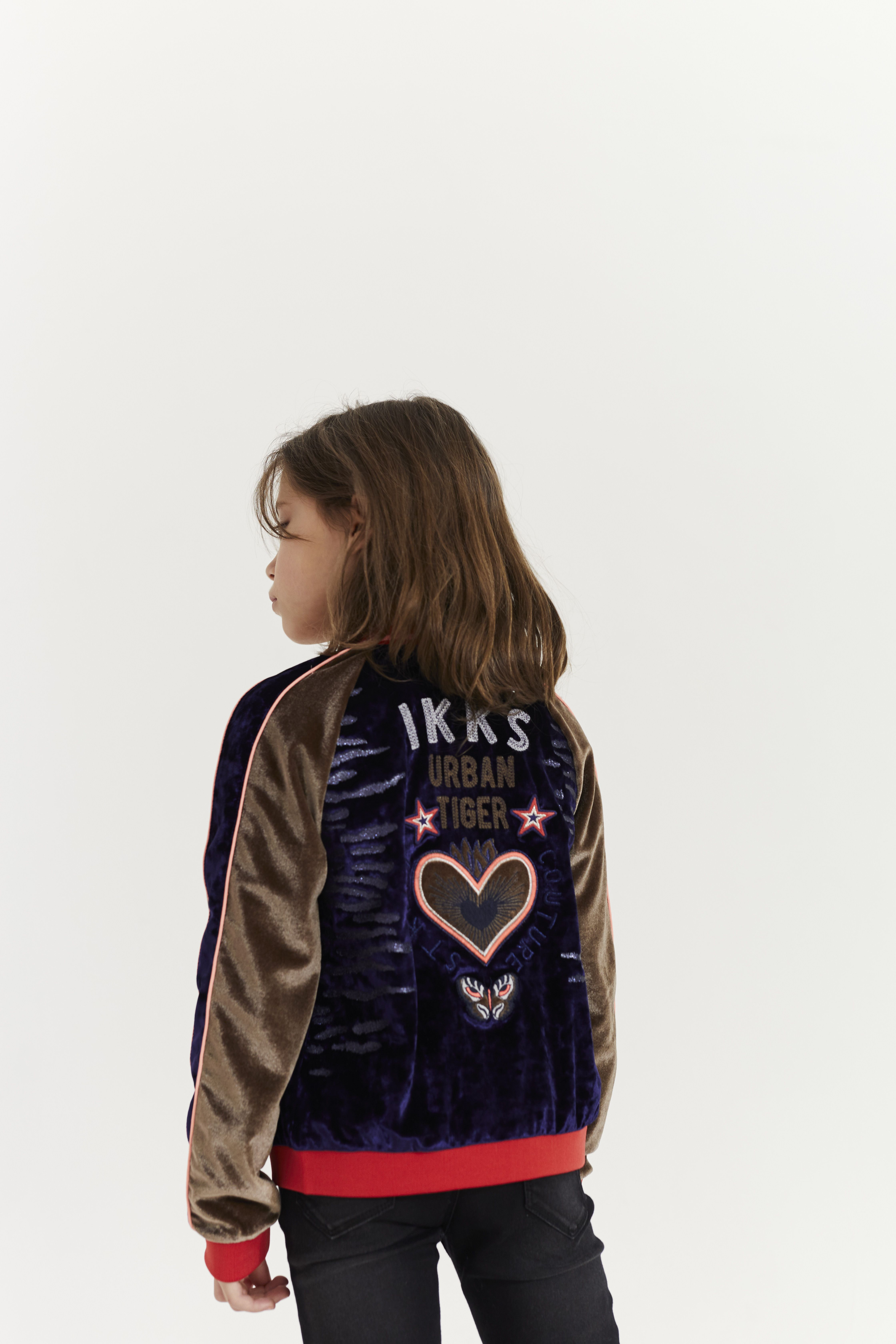 Look fille Automne-Hiver 2017 2018 collection IKKS Kid Girl  aw17  kidstyle cc33efadeb2