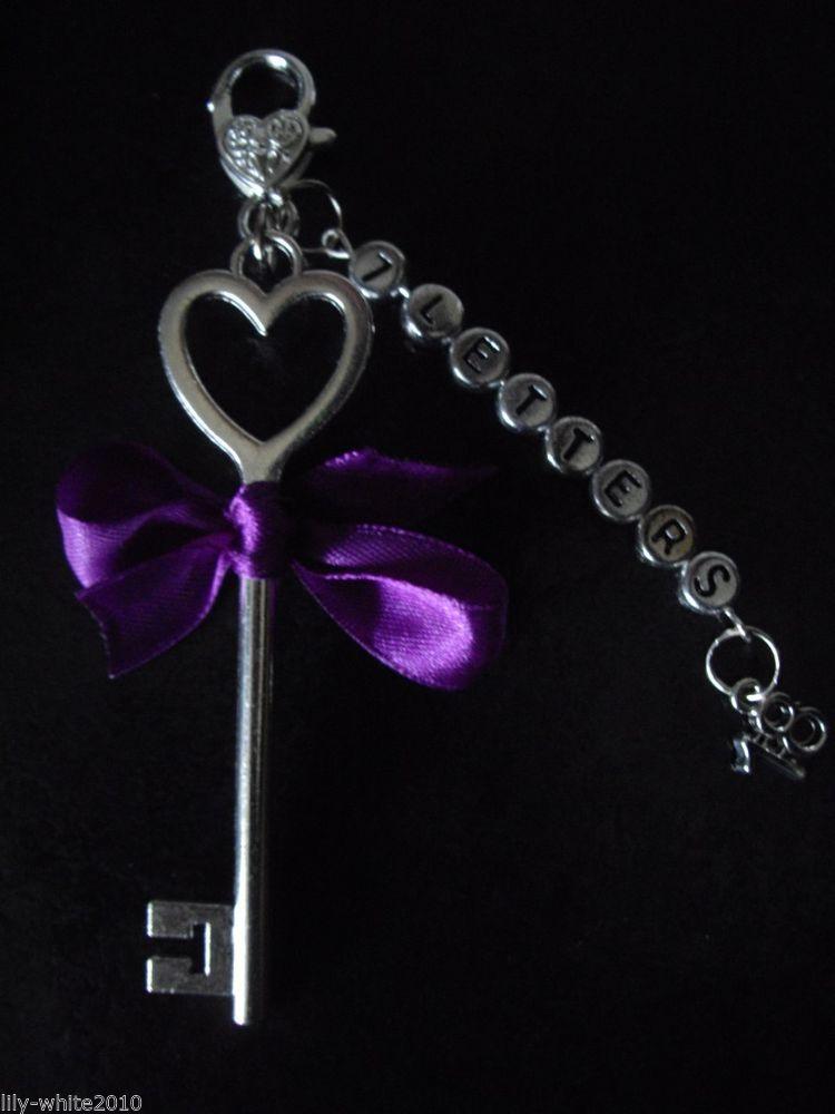 Personalised 18th 21st Birthday Present - 21st Key - 18th Key - Bow & Charm