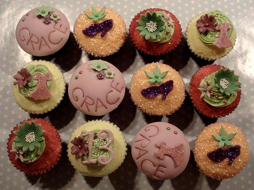 13th Birthday Cupcake Giftbox by Scrumptious Buns (Samantha), via Flickr