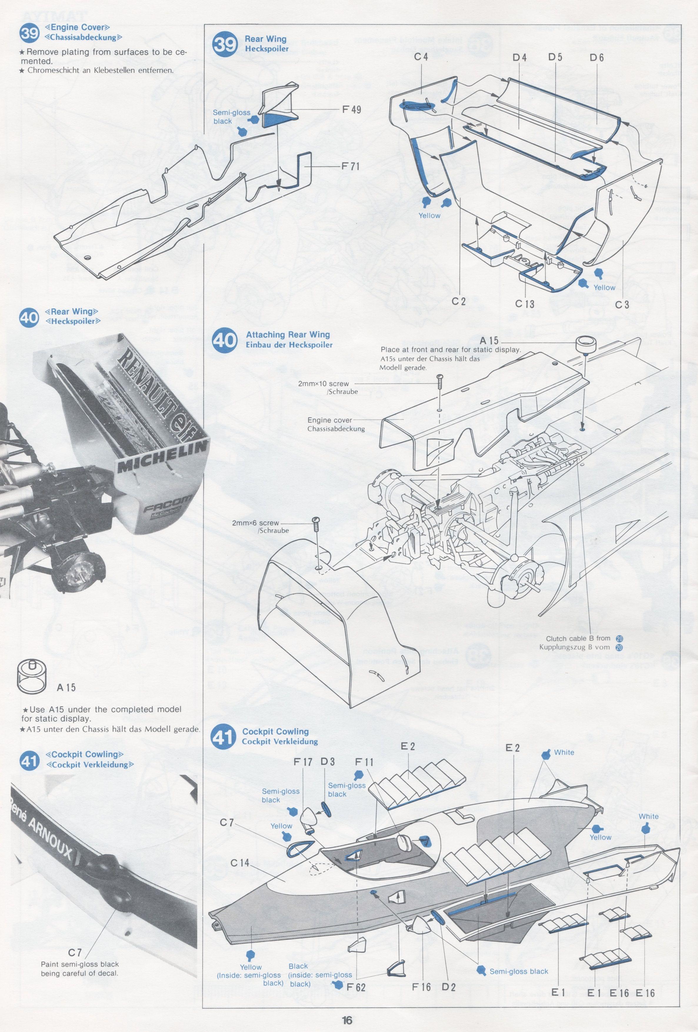 Tamiya 1 12 Renault Re20 Image By Gluefinger