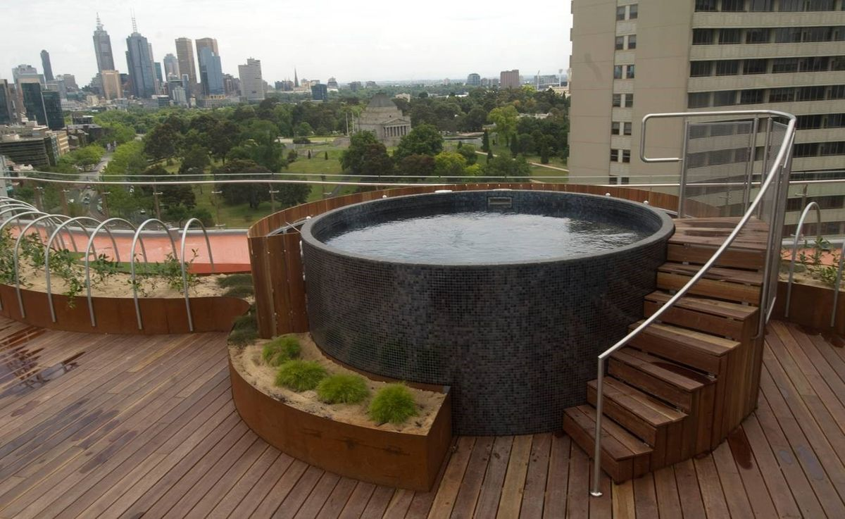 20+ Stock Tank Pools to be an Oasis on Your Backyard