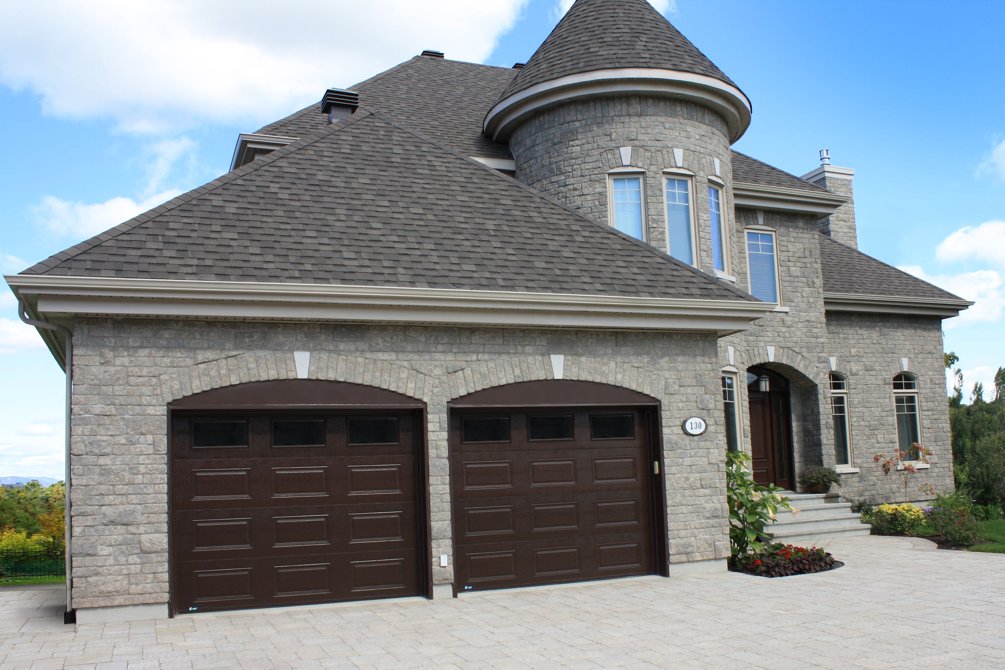 couleur porte de garage portes de garage garex mod le premium couleur brun