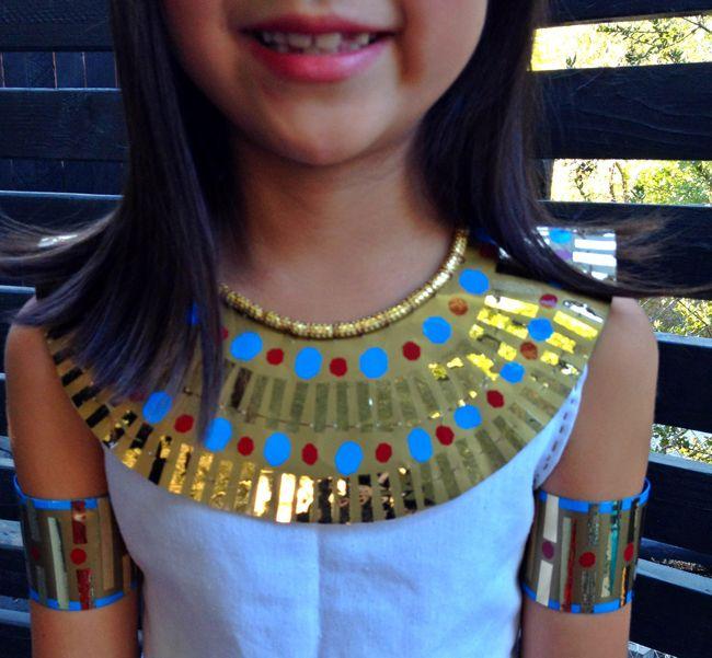Lena Sekine Making of Cleopatra costume & cleopatra costume halloween DIY tutorial halloween ideas ...