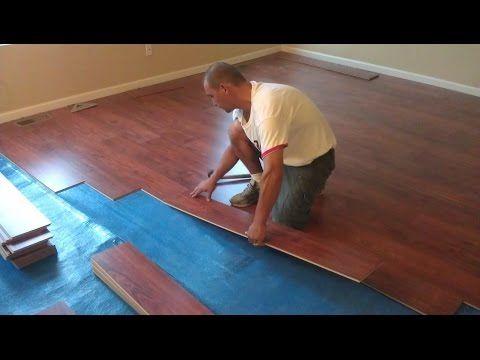 Flooring 101 How To Install Laminate Lock Fold Method