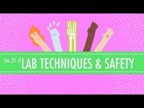Lab Techniques  Safety Crash Course Chemistry #21 - YouTube