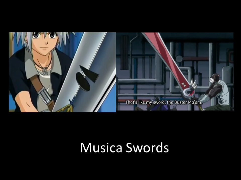 Rave Master Left Side X Fairy Tail Right Side Both Have Musica