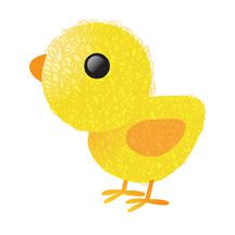 chick doodle by fhiona galloway, via Flickr