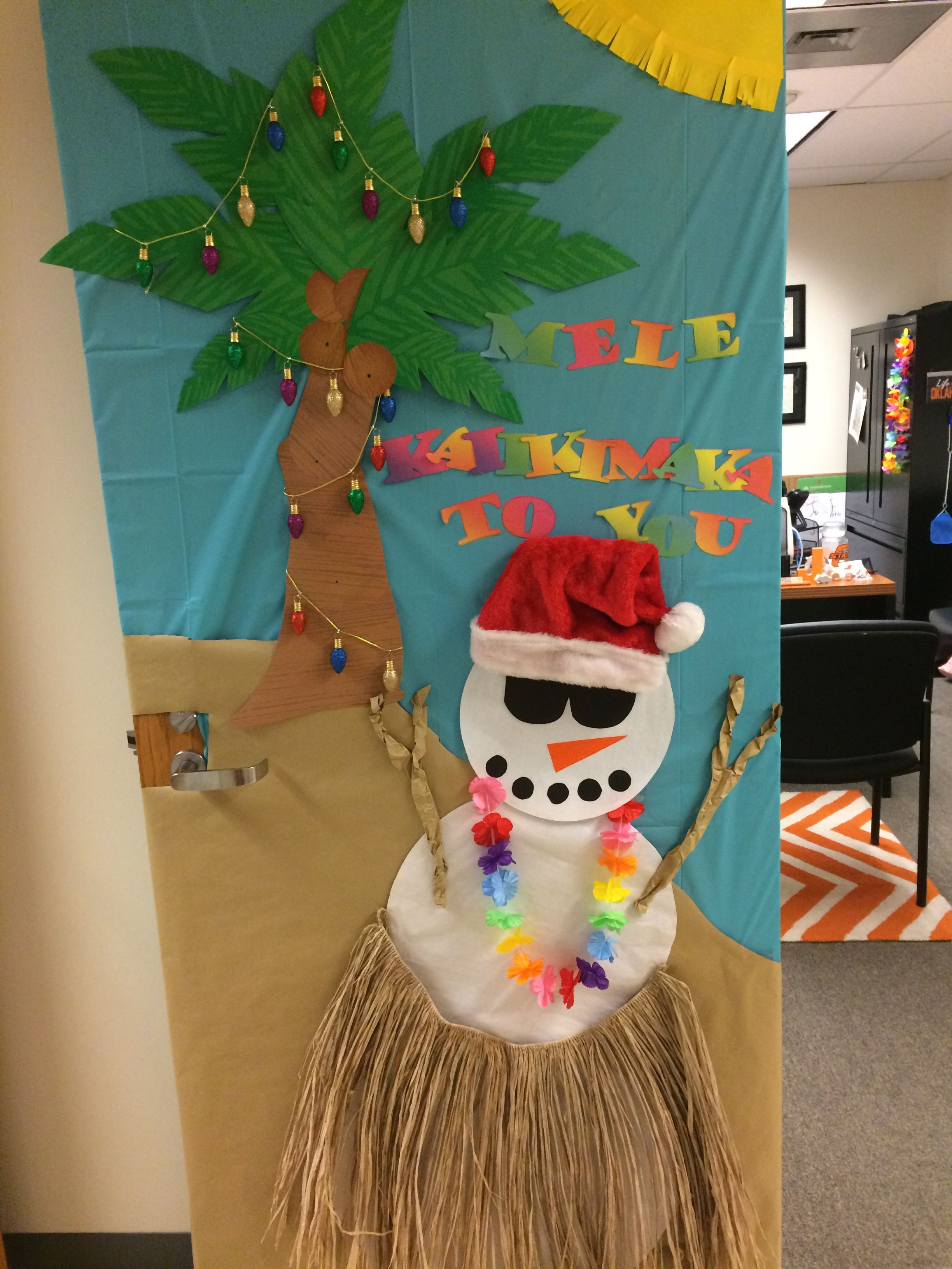 Office Door Decorating Contest 2016 Christmas Door