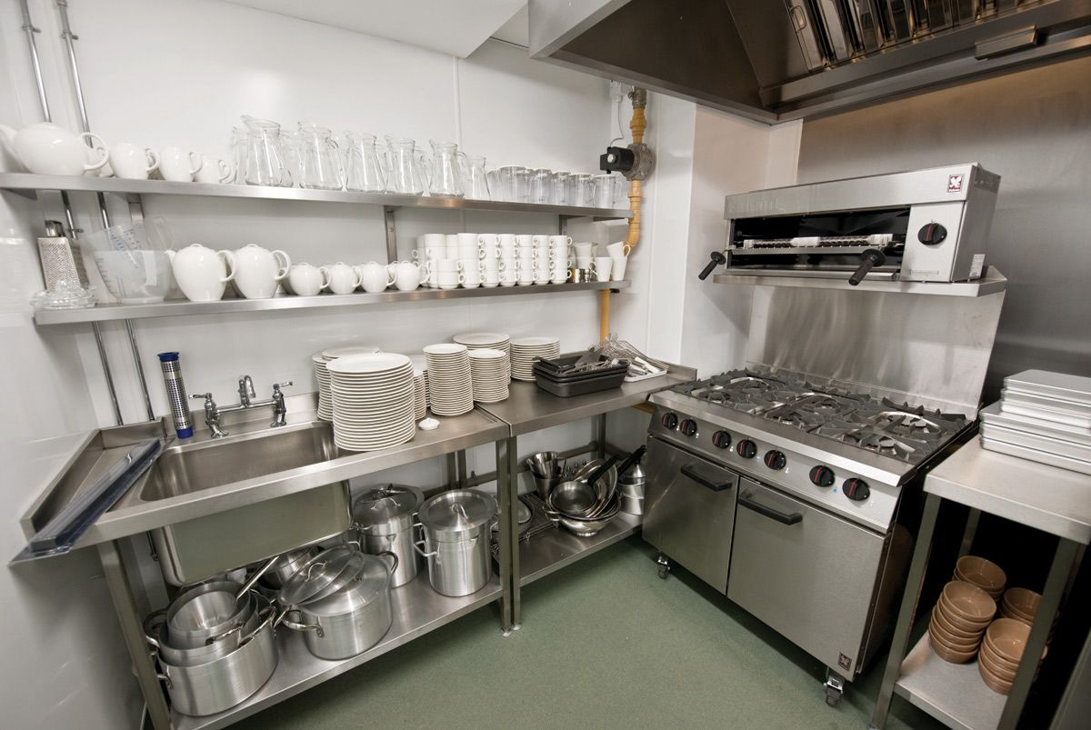 kitchen layout for catering | industrial kitchen design
