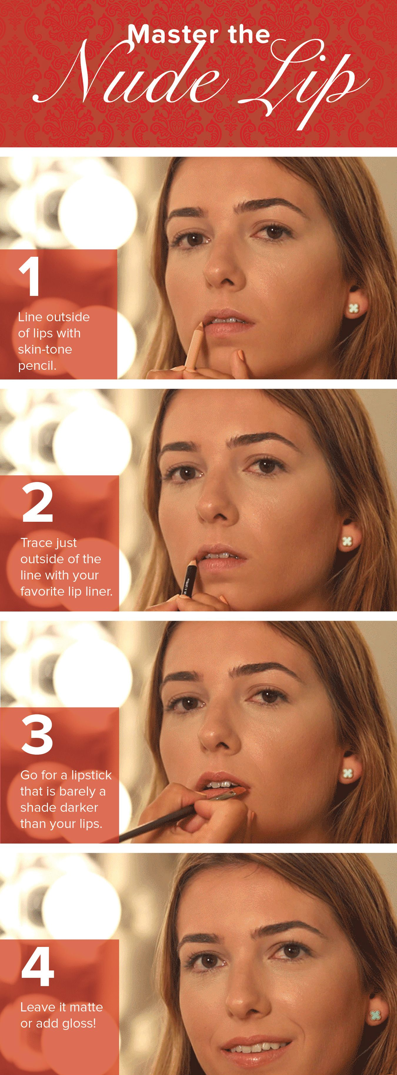 Master the nude lip without looking like a zombie
