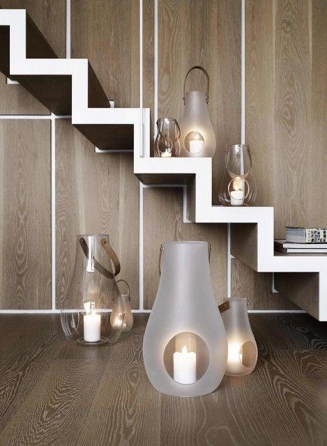Holmegaard Design With Light lanterns <3 http://www.holmegaard.com/