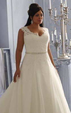 Lace Lique Wedding Gown By Julietta Mori Lee 3162