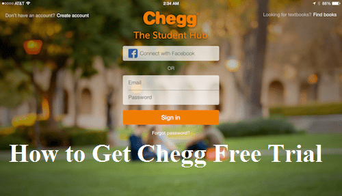 Get Chegg Free Trial – Free Chegg Account equips learners with an