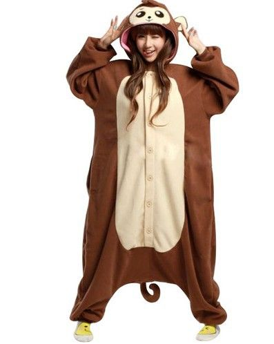 e6c54804e3 New Arrival Animal Baboon Monkey Pajamas Adult Kigurumi Onesie Unisex Women  Ladies Men Couple Sleepwear Halloween Party Costumes  26.98   Ships from  China ...