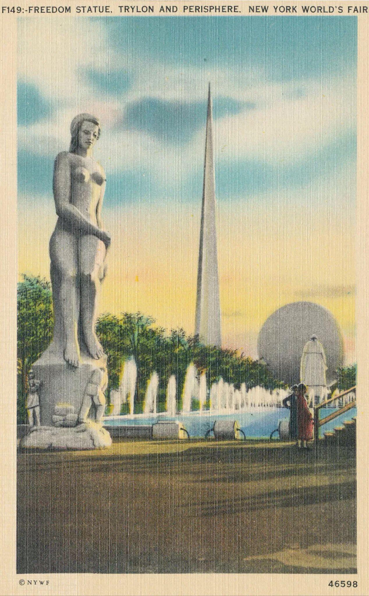 World Of Tomorrow, Statue