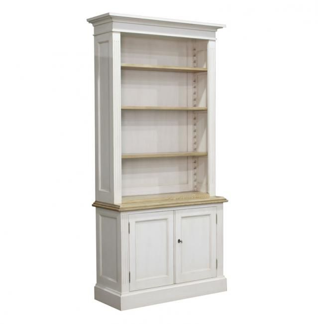 Block U0026 Chisel English Country Style Single Library Bookcase Oak Top