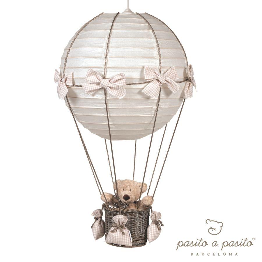 Schön Fantasyroom Lörrach Beste Wahl Pasito A Pasito Babyzimmerlampe Heissluft Ballon Vichy