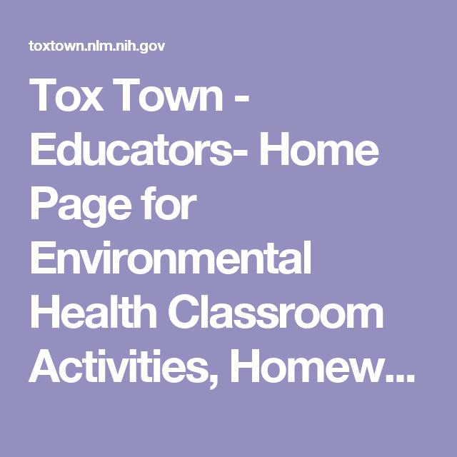 Environmental teen activities