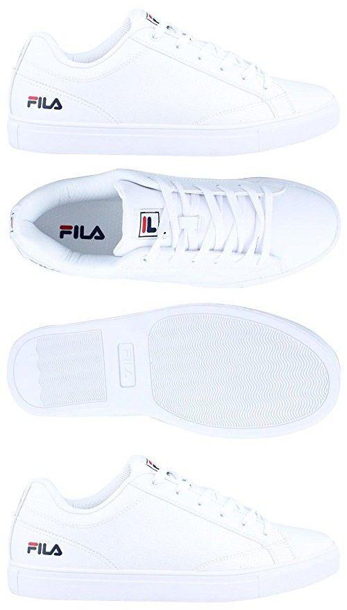 Men's Fila, Amalfi Lace up Shoe WHITE