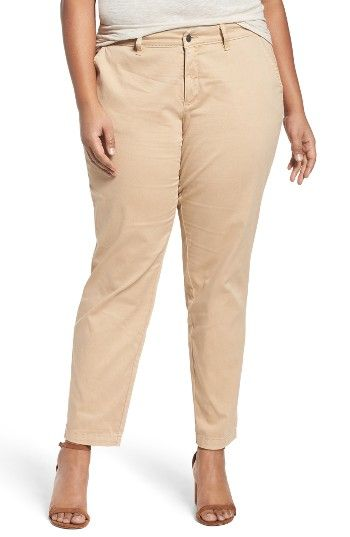 Free shipping and returns on Sejour Stretch Cotton Ankle Pants (Plus Size) at Nordstrom.com. A tapering silhouette that ends at the ankle updates the look of classically styled chinos cut from comfortable stretch cotton.