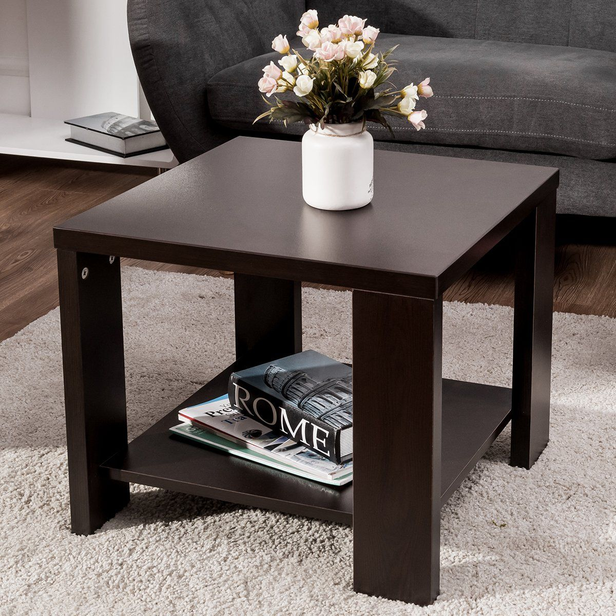 21+ Living room side tables with storage information