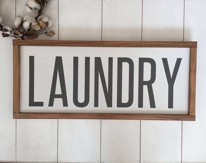 Laundry Sign Laundry Room Decor Signs Laundry Room Sign Wood