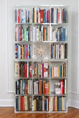 Stacked Lucite U003d Bookcase