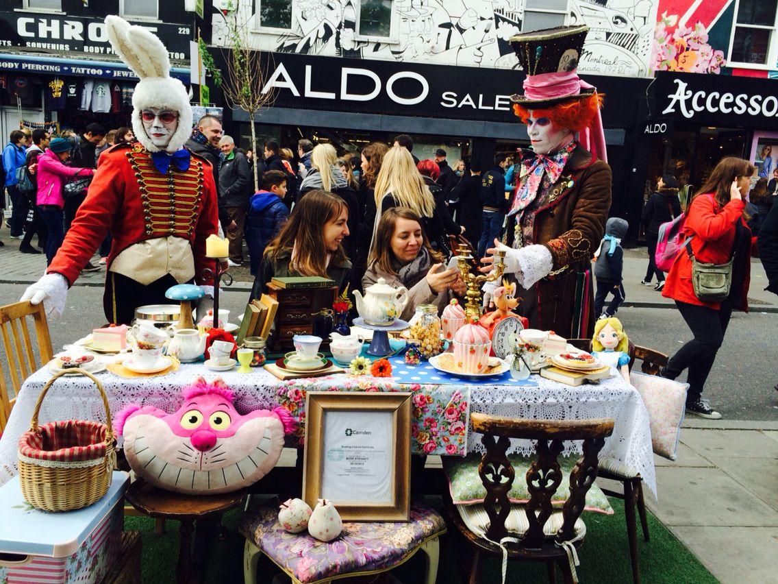 Buskers In Camden Town Viaggi