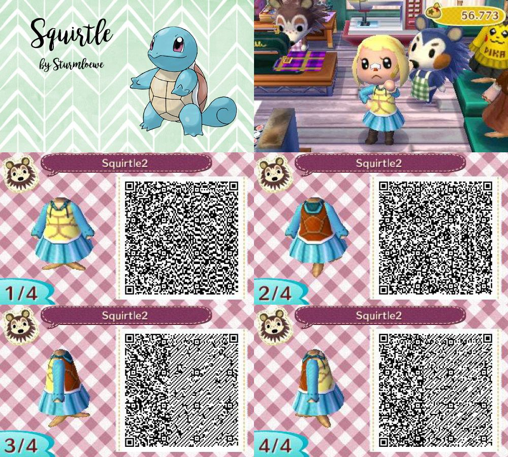 squirtle qr code sun and moon
