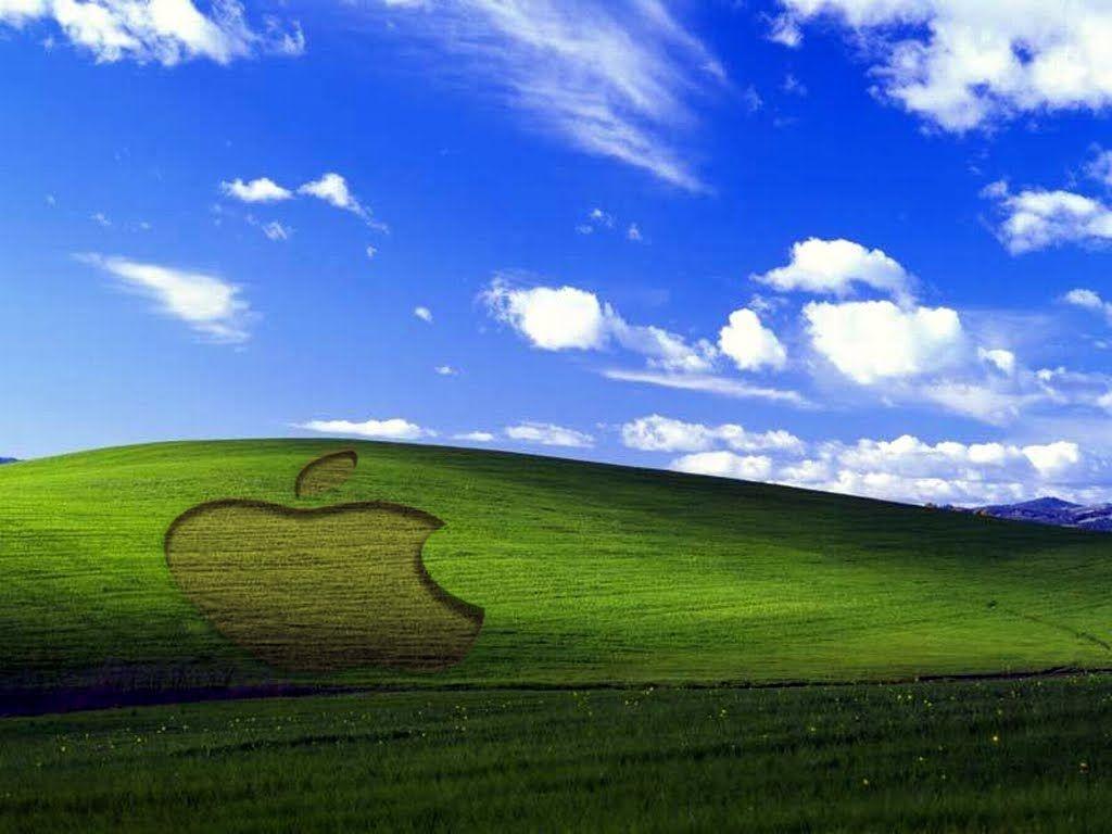 windows xp like apple wallpaper | companies - equipment