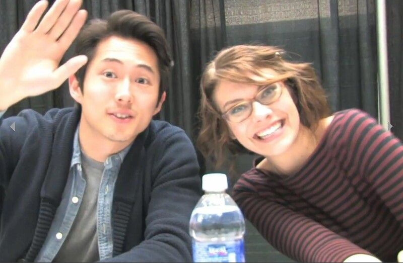 Walking Dead - Glenn and Maggie at Comic con