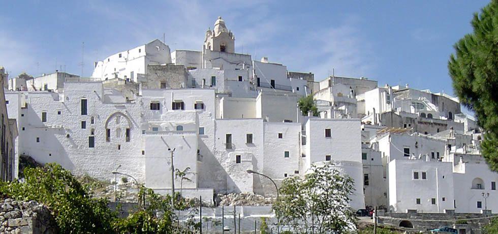 Ostuni the White City in Puglia