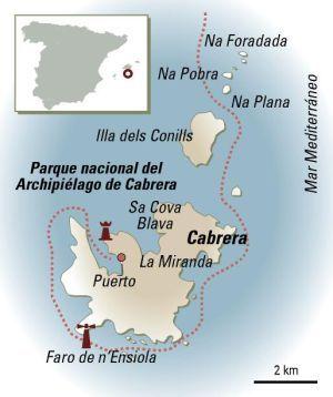 Isla De Cabrera Mapa.Cabrera Un Mundo Aparte Islas Baleares Islas Y Tipos De