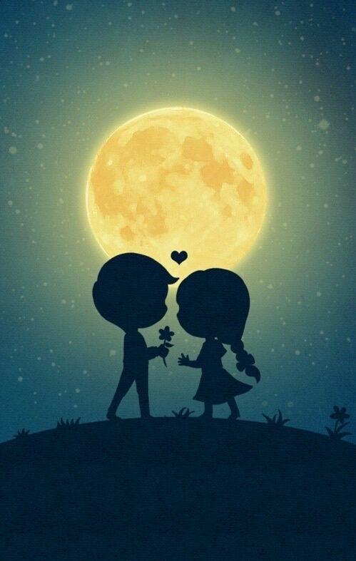 Imagen De Love Couple And Background Love Wallpaper Cute Art Love Images