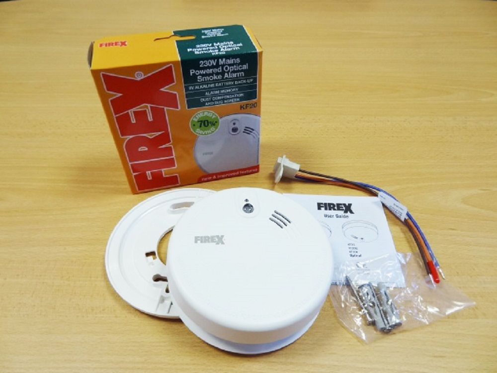 Kidde firex mains powered optical smoke alarm detector kf20 kf2 - agr officer sample resume