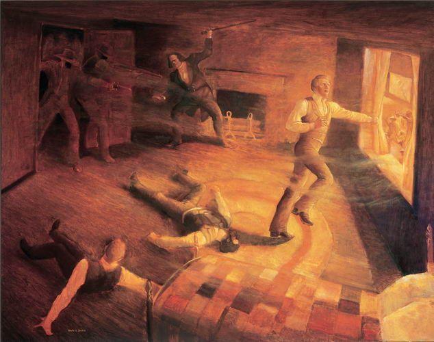 El martirio de Jose Smith en la carcel de Carthage | Lds / Sud ...