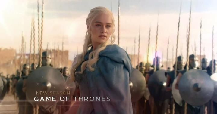 Dany snap shot for the up coming season 2013. Blue/grey Cloak & a army?  I'm so ready for the new season!
