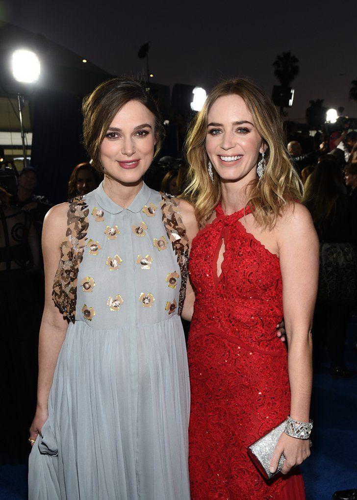 Pin for Later: Die Stars feiern weiter bei den Critics' Choice Movie Awards! Keira Knightley und Emily Blunt