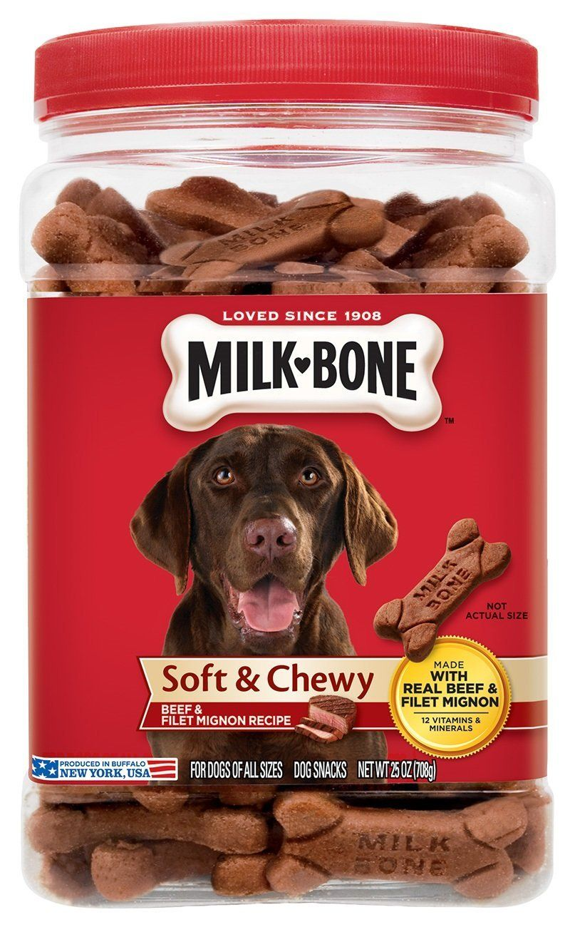 Robot Check Milk Bone Dog Milk Peanut Butter Dog Treats