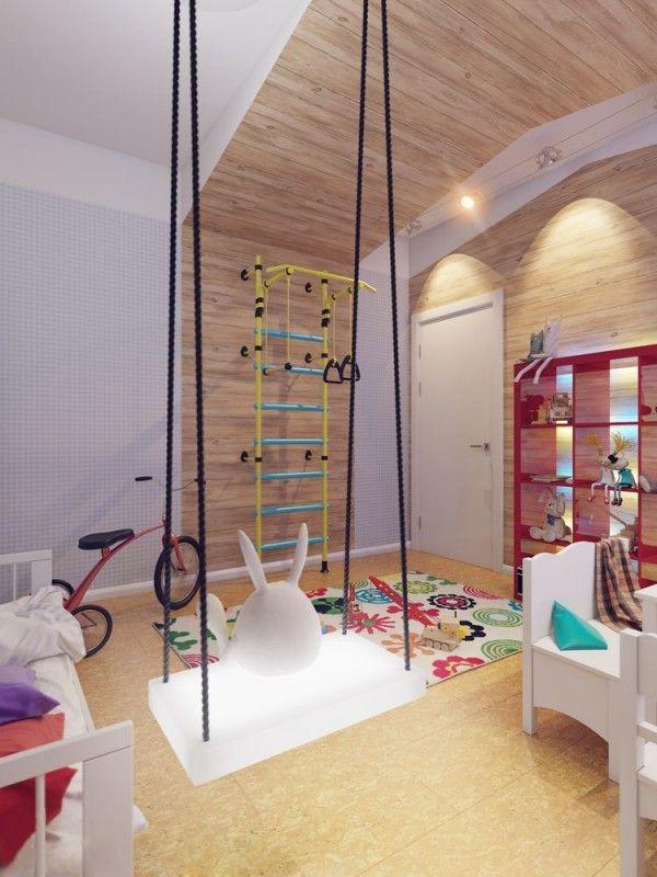 Schaukel Fürs Zimmer : sparkling white apartment with hideaway home offices sylt ideen ~ Watch28wear.com Haus und Dekorationen