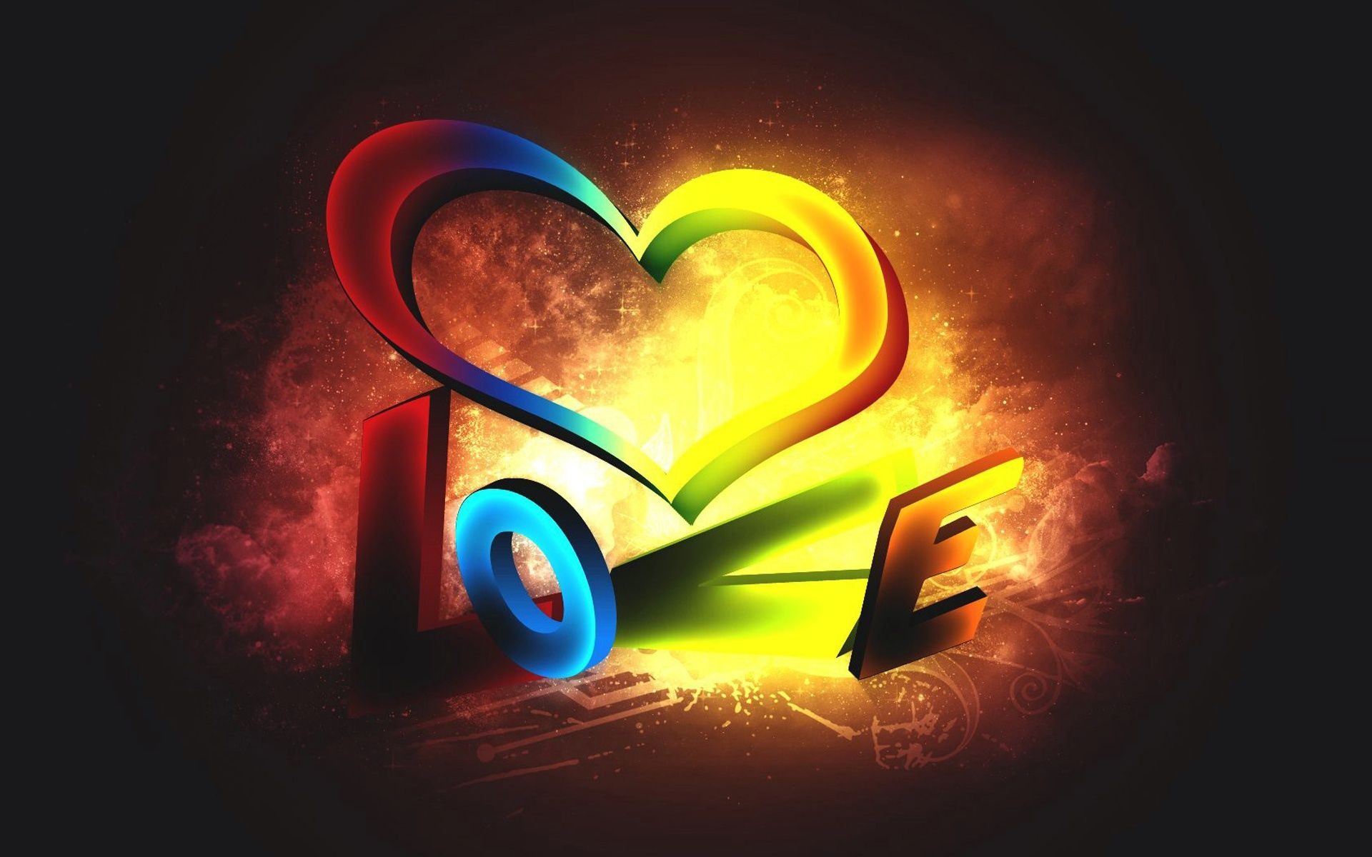 Hd wallpaper of love - 3d Love Art Pictures Wallpapers Of Love Hd