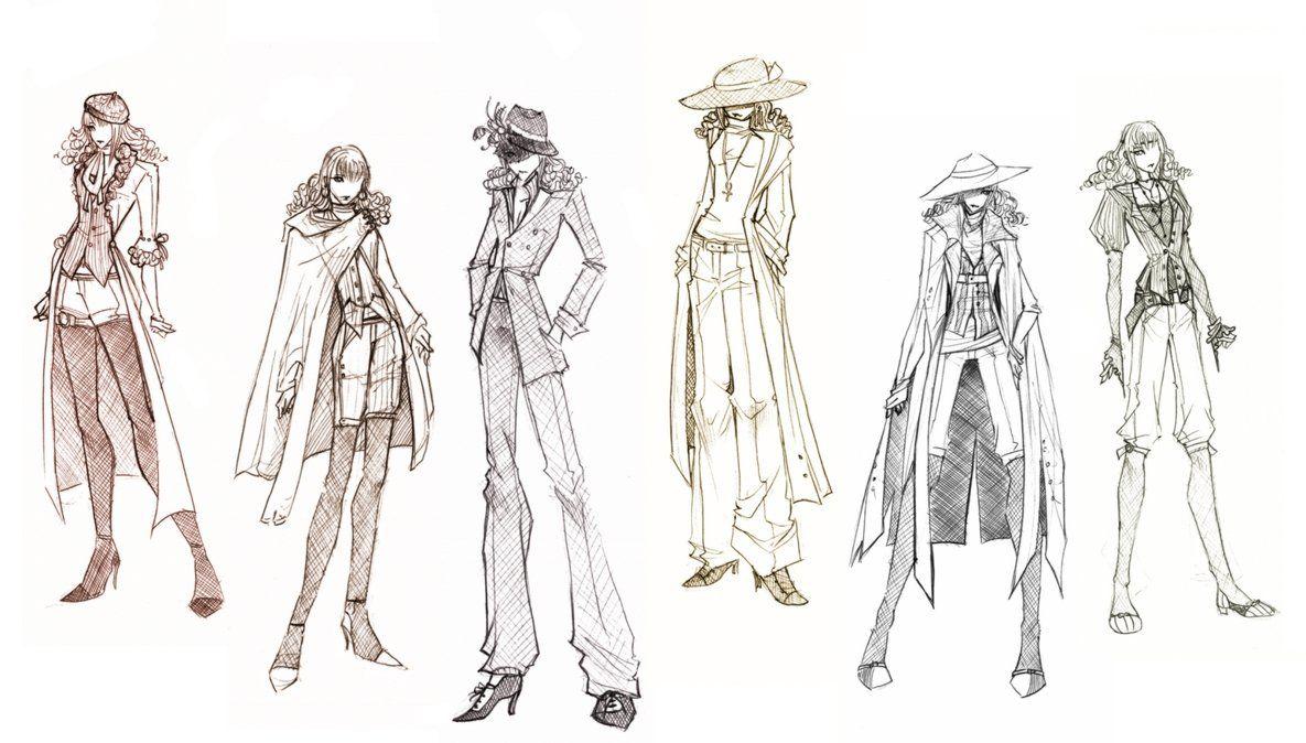 Sketches of Moretz clothing by Jethyn on deviantART | Costume ...