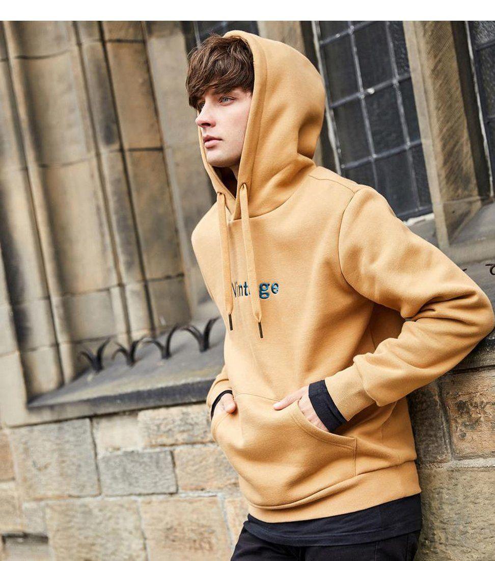 Men's Hoodie Long Sleeve Streetwear Casual Comfortable | Stylish hoodies,  Hoodies men, Long sleeve hoodie