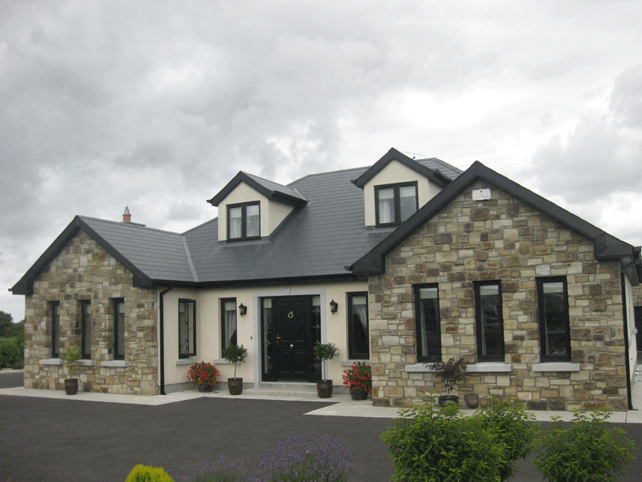 Houses - Entrances - Kilkea Stone Yard | Bungalow exterior ...