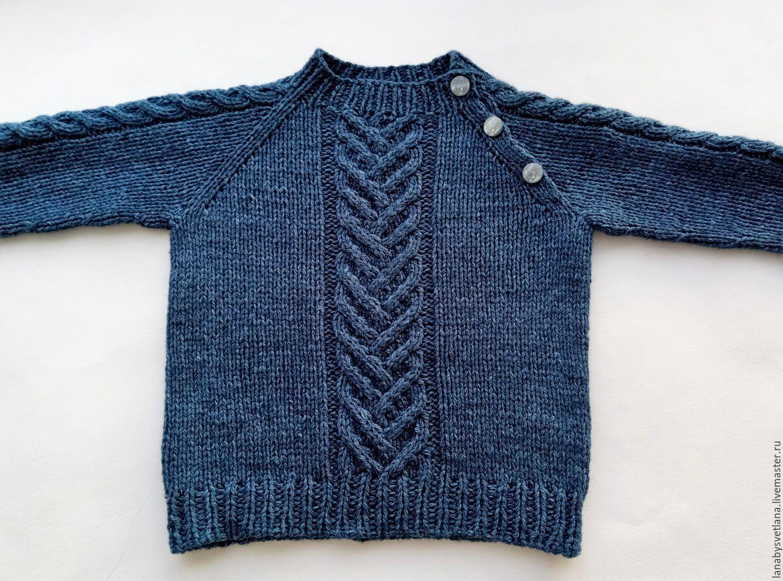 Выкройка детский свитер реглан