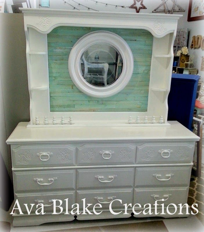 Upcycled 80\'s Dresser   Home decor -Paint   Bedroom furniture ...