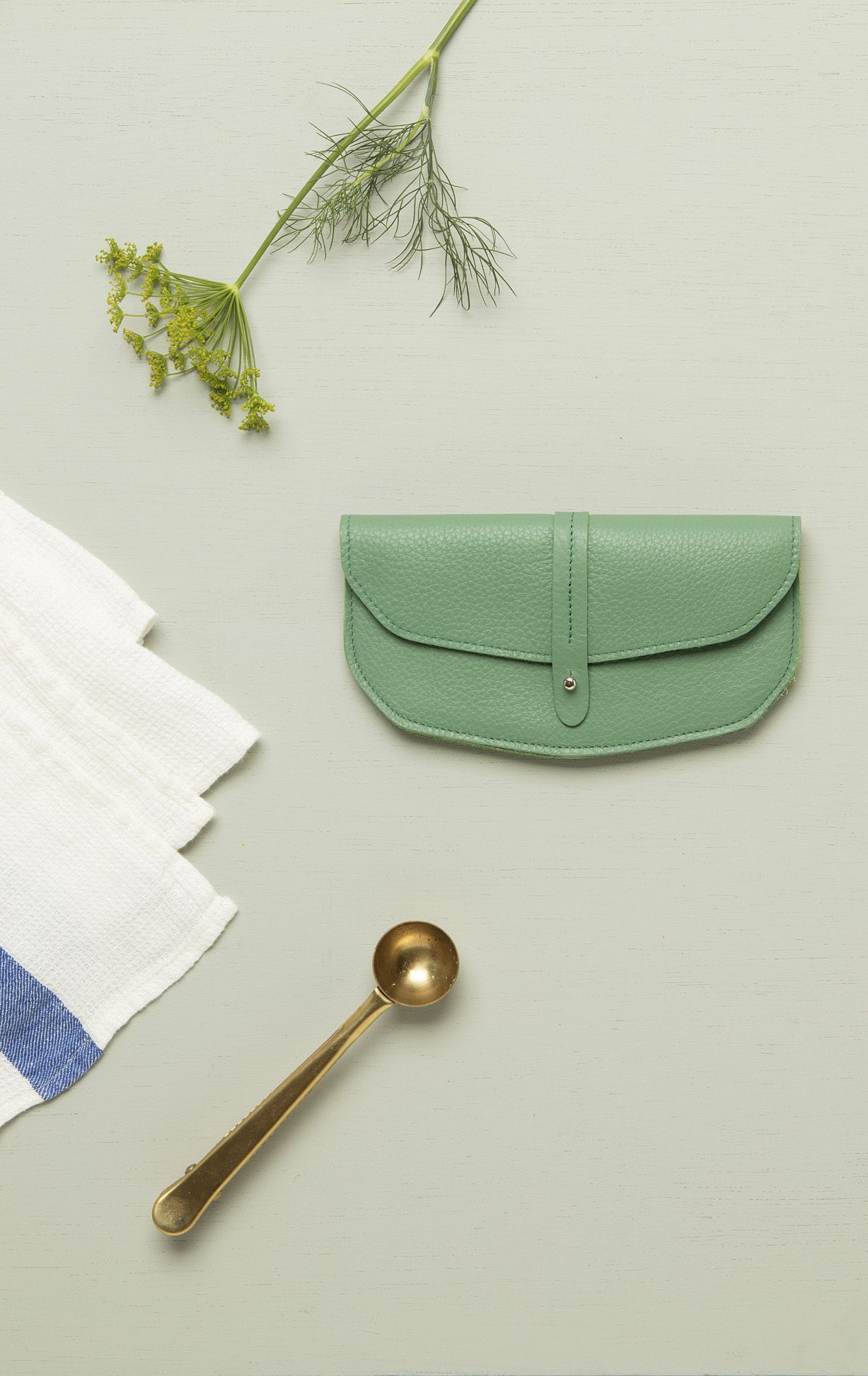 9e4e2e8c6fb Keecie - move mountains wallet in forest green leather | wallets for women  | handmade wallet
